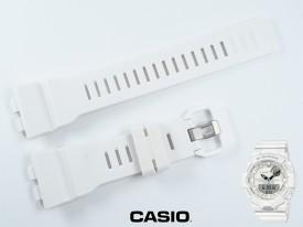 Pasek Casio GBA-800-7A, GBA-800 biały