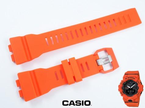 Pasek Casio GBA-800-4A, GBA-800 pomarańczowy