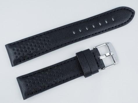 Pasek MORELLATO RALLY skórzany czarny 20 mm