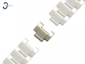 Ogniwo do bransolety do zegarka MK5161 ceramiczne białe