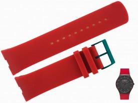 Pasek Skagen SKW6073, SKW6074, SKW6075 silikonowy czerwony