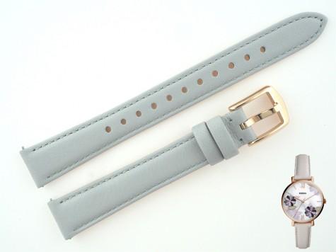 Pasek do zegarka Fossil Jacqueline ES4672 szary 14 mm