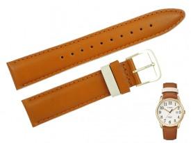 Pasek do zegarka TIMEX TW2R62700 brązowy 20 mm