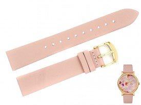 Pasek do zegarka TIMEX TW2R66300 różowy 18 mm