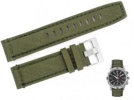 Pasek do zegarka TIMEX T2P286 zielony 22 mm