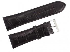 Pasek do zegarka Lorus 28 mm brązowy skórzany