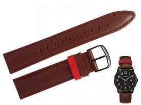 Pasek do zegarka TIMEX TW2R62300 brązowy 20 mm