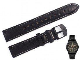 Pasek do zegarka TIMEX TW4B11200 czarny 18 mm