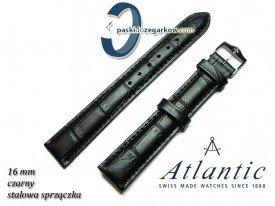 Pasek Atlantic 16mm - Czarny