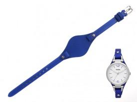 Pasek do zegarka Fossil Georgia ES3318 niebieski
