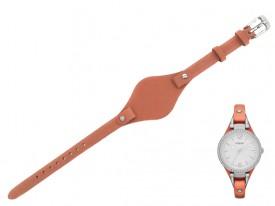 Pasek do zegarka Fossil Georgia ES3468 brązowy