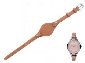 Pasek do zegarka Fossil Georgia ES3076 brązowy