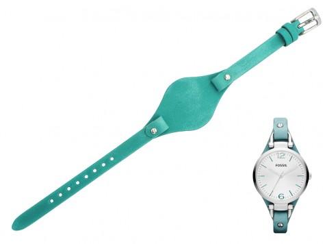 Pasek do zegarka Fossil ES3221 ES2830 ES3199 zielony