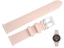 Pasek do zegarka Michael Kors MKT5055 różowy 18 mm