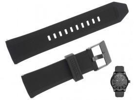 Pasek do zegarka DIESEL DZ1807 gumowy czarny 24 mm