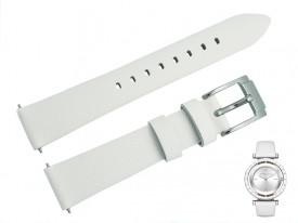 Pasek do zegarka Michael Kors MK2524 biały 16 mm