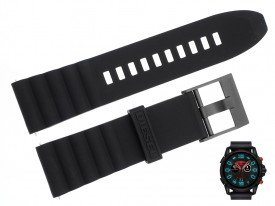 Pasek do zegarka DIESEL DZT2010 czarny 24 mm