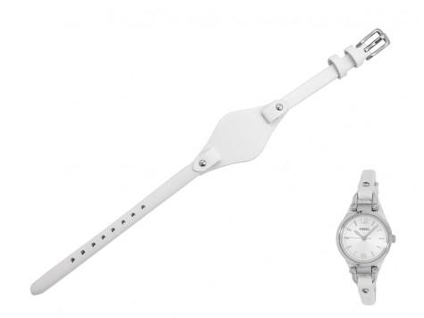 Pasek do zegarka Fossil Georgia Mini ES3267 biały