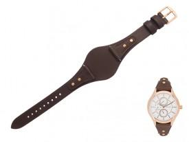 Pasek do zegarka Fossil BQ3065 brązowy