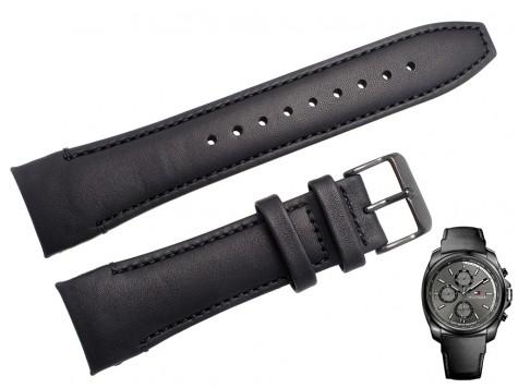 Pasek do zegarka Tommy Hilfiger TH 1791078 czarny