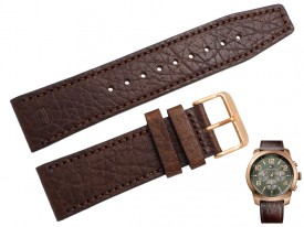 Pasek do zegarka Tommy Hilfiger TH1791109 24 mm brązowy