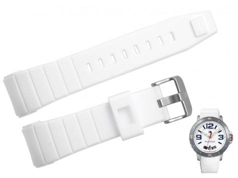 Pasek do zegarka Tommy Hilfiger TH 1791251 biały