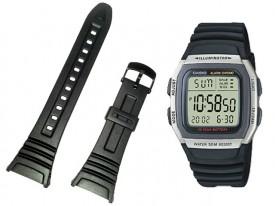 Pasek do zegarka Casio W-96H czarny