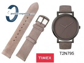 T2N795 - Pasek Timex 20mm - szary