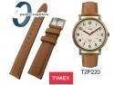 Pasek Timex - skórzany 20mm - brązowy T2P220