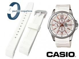 Pasek Casio - EF-343 - biały