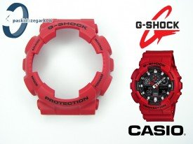 Bezel GA-100, GA-110 czerwony