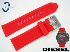 Pasek do DIESEL DZ4388 czerwony kauczykowy