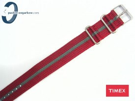 Timex WEEKENDER czerwono-szary