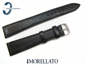 Pasek MORELLATO DUBLINO XL czarny skórzany