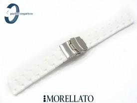 Pasek MORELLATO ISEO silikonowy biały