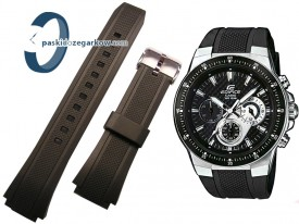 Pasek do zegarka Casio EF-552 czarny
