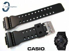 Pasek Casio GA-100CF, GA-100CB, GA-110CB, GA-110LY, GA-100LY, GA-100, GA-110 czarny półmat