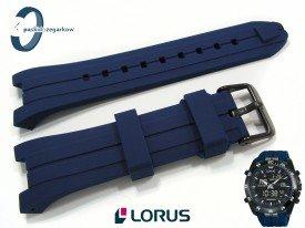 Pasek Lorus RW631AX9, RW617AX9 gumowy niebieski