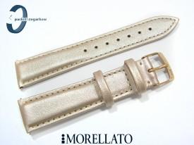 Pasek Morellato TREND skórzany złoty