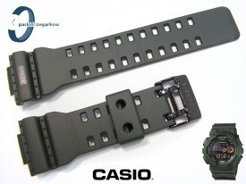 Pasek GD-100MS-3, GA-100, GA-110, GA-120, GD-100, GD-110, GD-120 ciemnozielony mat