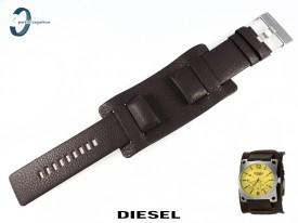 Pasek Diesel DZ1213 skórzany brązowy 28 mm