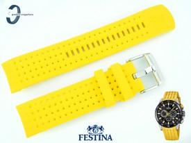 Pasek Festina F20353 silikonowy żółty