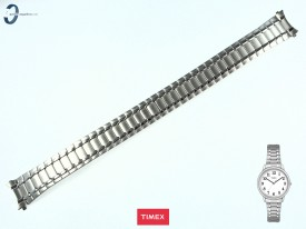 Bransoleta Timex TW2P78500 stalowa stretch w kolorze srebnym