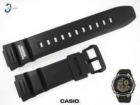Pasek Casio AE-2100, AE-2100W czarny gumowy