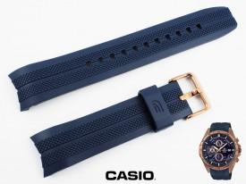 Pasek Casio EFR-556PC-2AV, EFR-556 niebieski