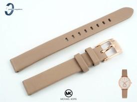 Pasek Michael Kors MK2752 skórzany beżowy 12 mm