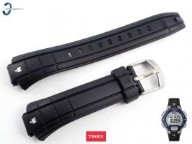 Pasek Timex T5K810 czarny gumowy