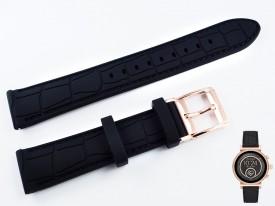 Pasek do zegarka Michael Kors MKT5069 czarny silikonowy 18 mm
