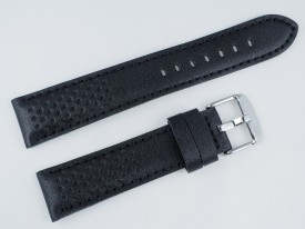 Pasek MORELLATO RALLY skórzany czarny 22 mm