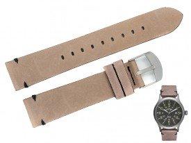 Pasek do zegarka TIMEX TW4B01700 brązowy 20 mm